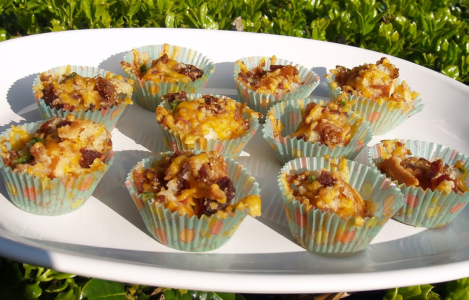 Cheesy Bacon Ranch Muffins