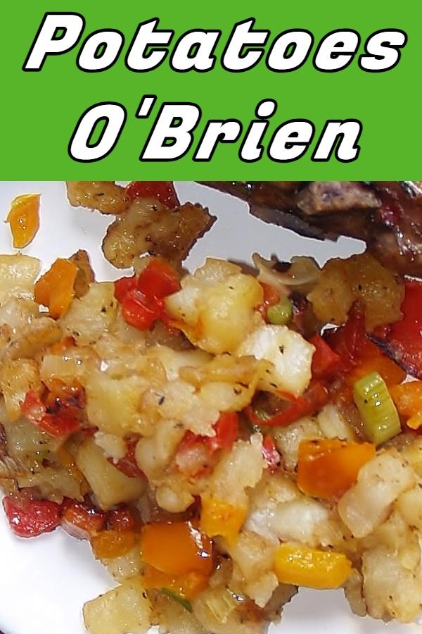 Potatoes O'Brien via @KitchenKelli