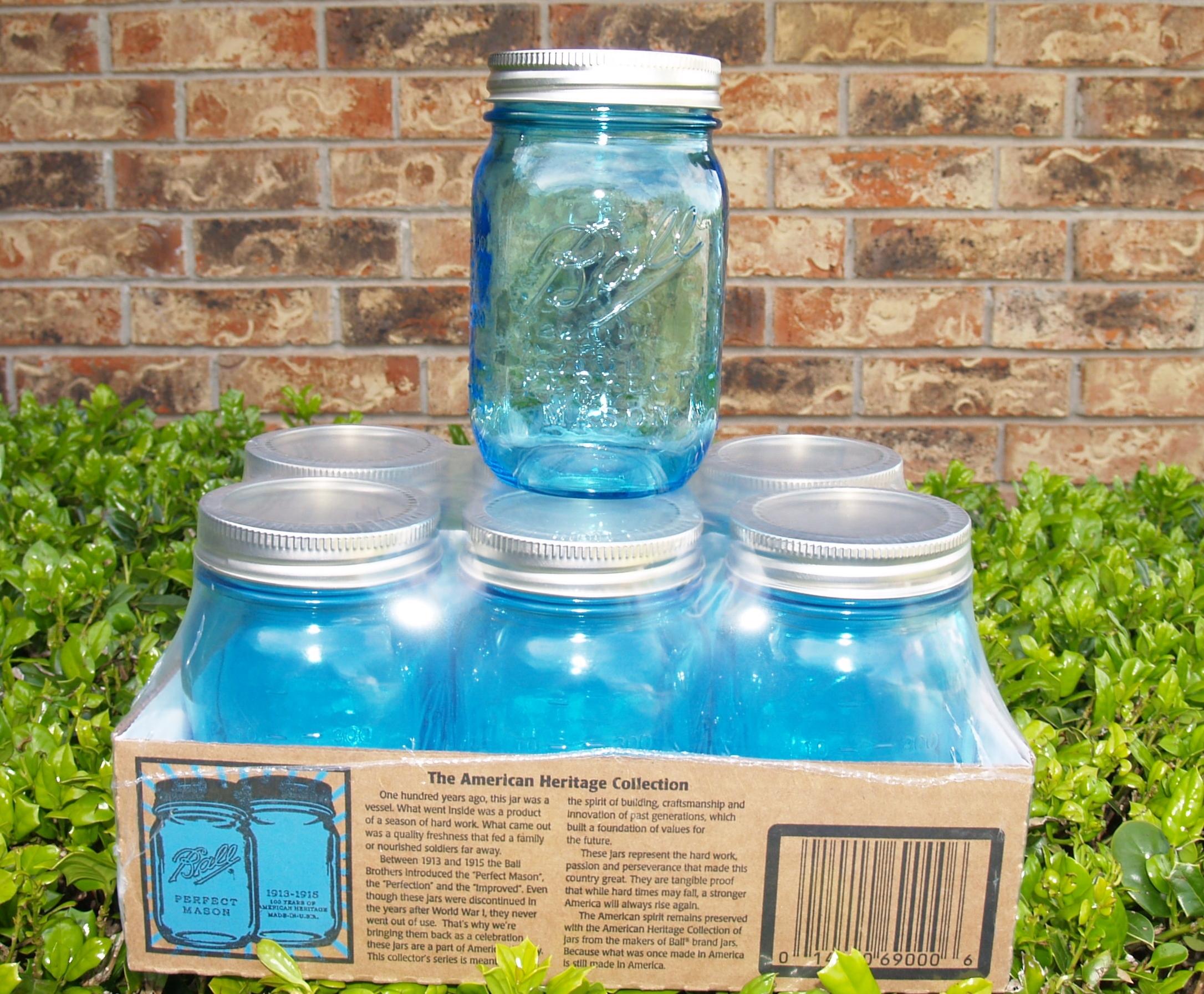Blue Mason Jar Giveaway