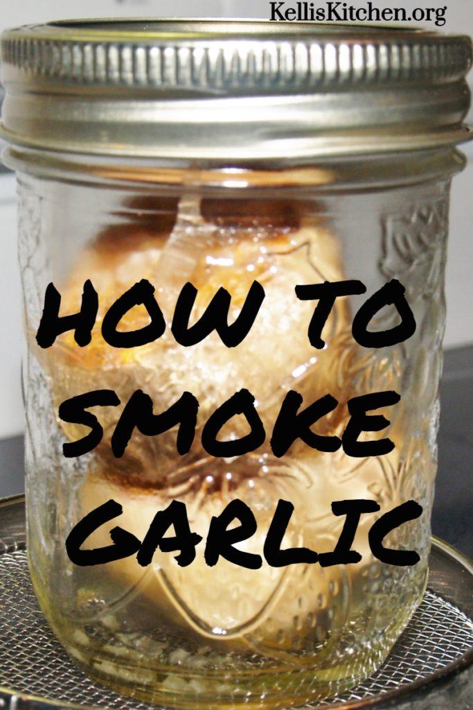 HOW TO SMOKE GARLIC