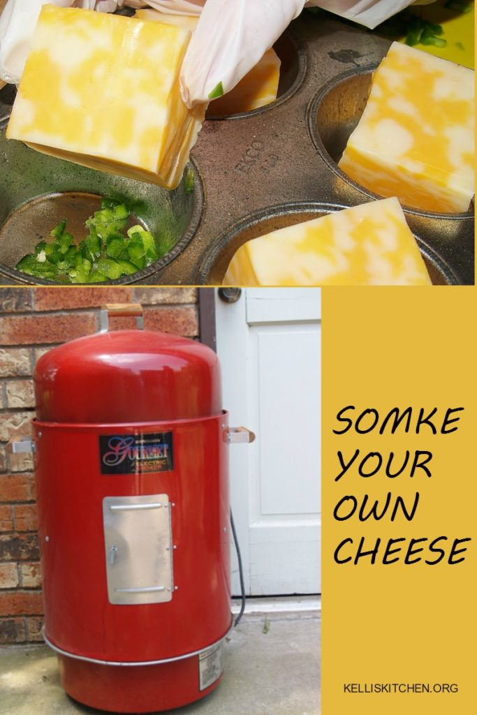 Smoke Your Own Cheese with a little work and some jalapenos or maybe onions or even some herbs you can have your own smoked appetizer quick!