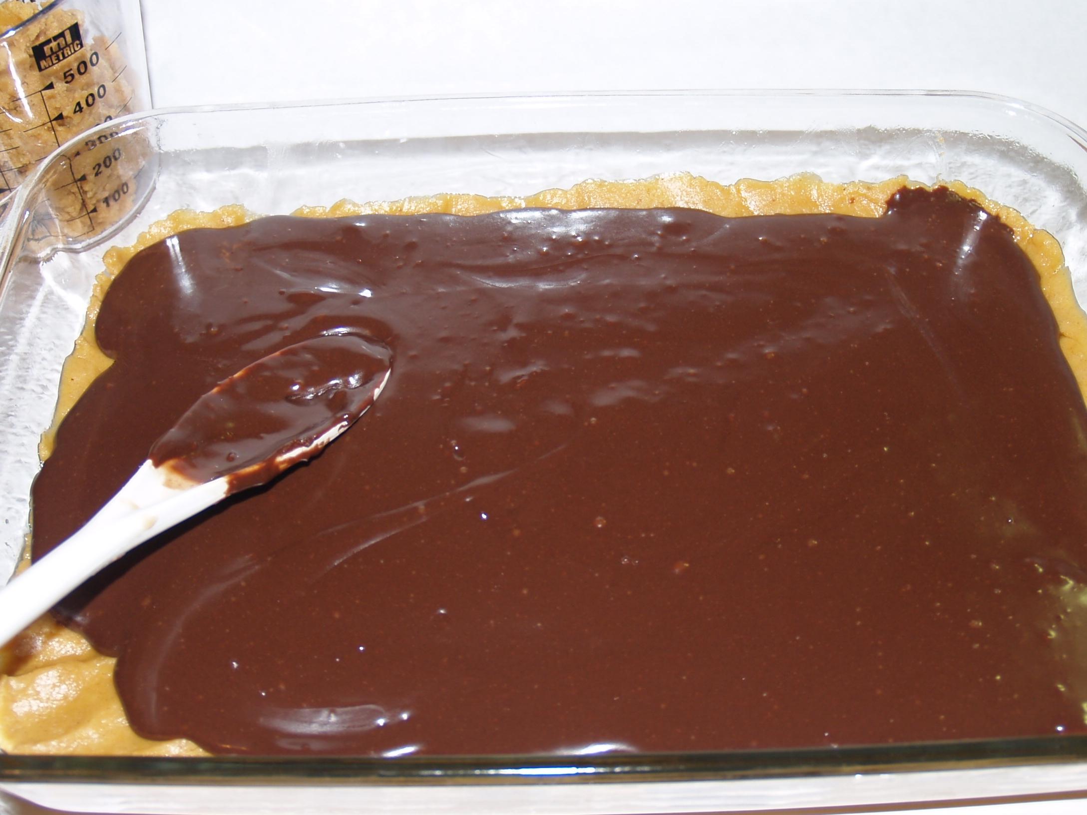 Chocolate Peanut Butter Banana Bars