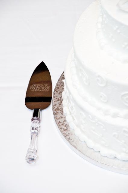 Top Girl's Wedding - Cake