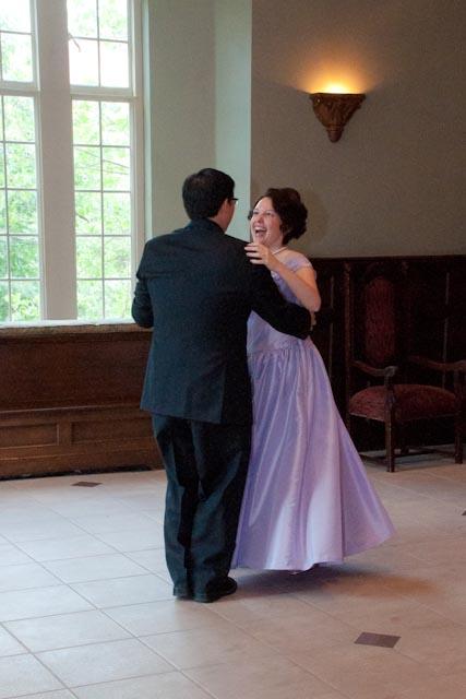 Top Girl's Wedding - first dance