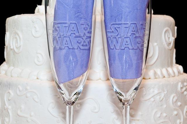 Top Girl's Wedding - Geeky glasses