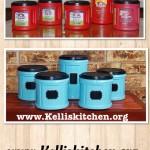 Cheap Organization with Coffee and Krylon