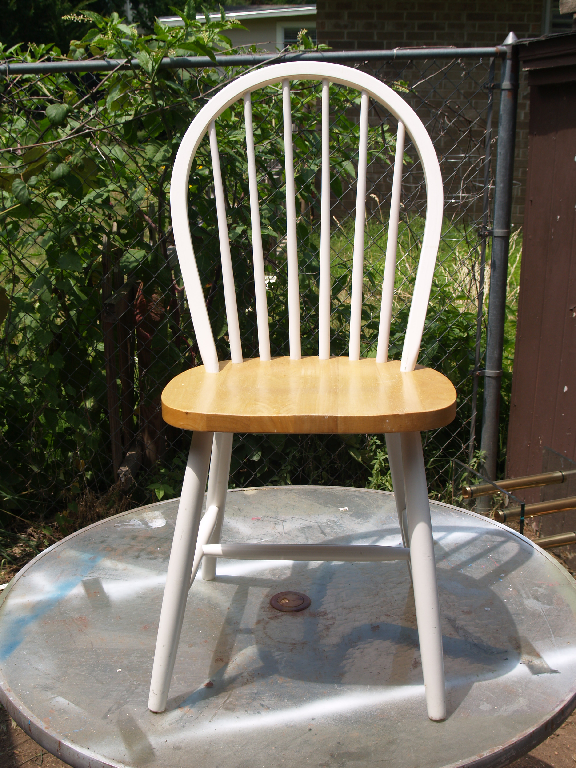 Camo Chair before