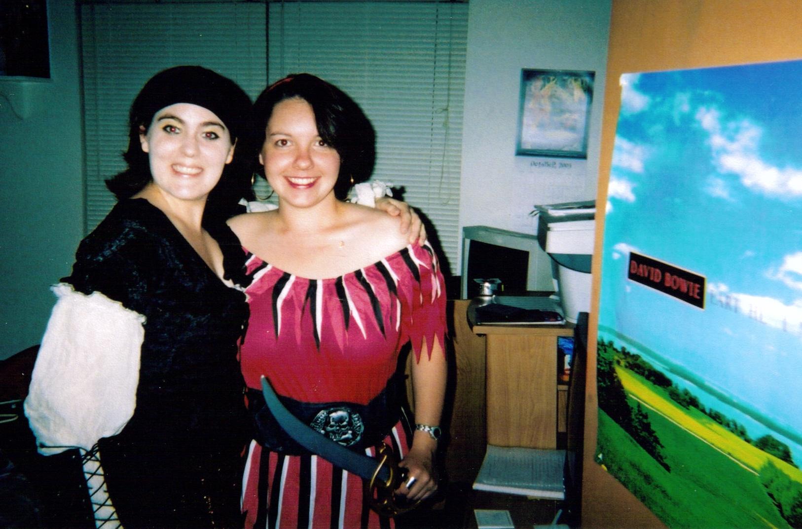 Arrrgh! Ann Bonny and Mary Reade