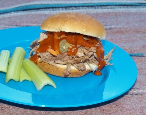 Crock Pot Pickle Pork from Kelli's Kitchen