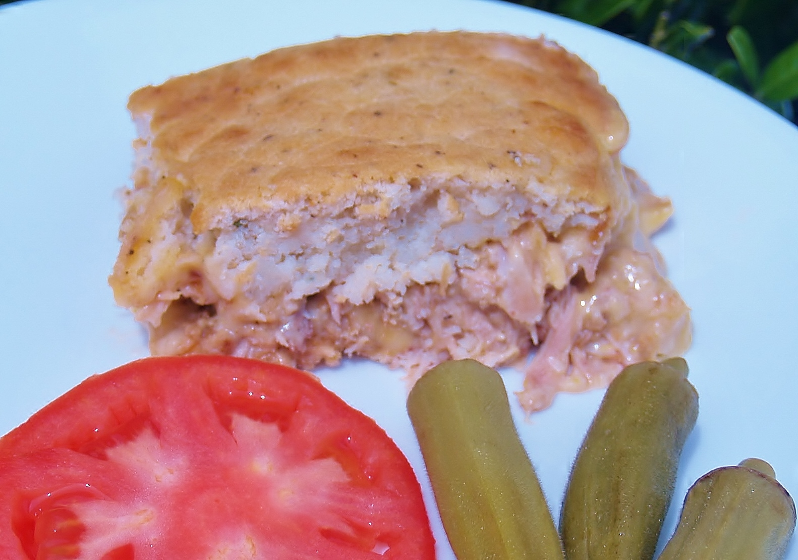 Cheesy Chicken Bacon Ranch Pot Pie