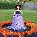 Easy Pillsbury Funfetti Halloween Doll Cake