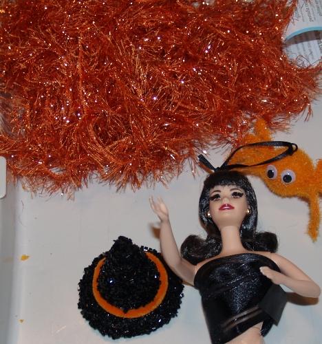 Easy Pillsbury Funfetti Halloween Doll Cake from Kelli's Kitchen