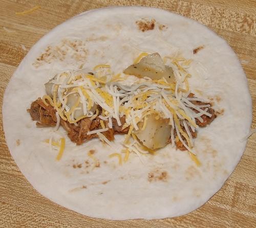 Ranchero Burrito Kelli's Kitchen