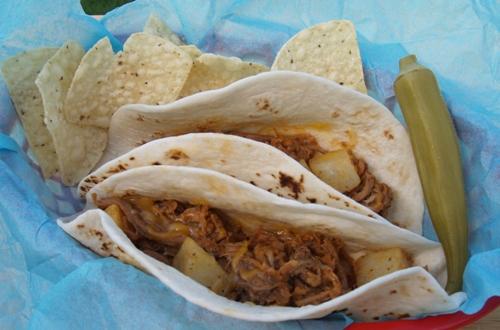 Ranchero Taco from Kelli's Kitchen