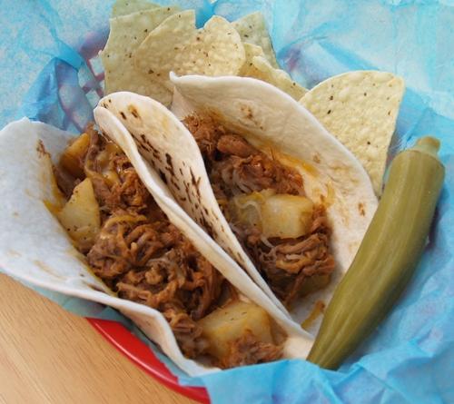Ranchero Taco/Kelli's Retro Kitchen Arts