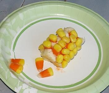 Candy Corn Cob Pinterest Fail from Kelli's Kitchen