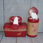 Hiney and Boogie Wipes Container Upcycle