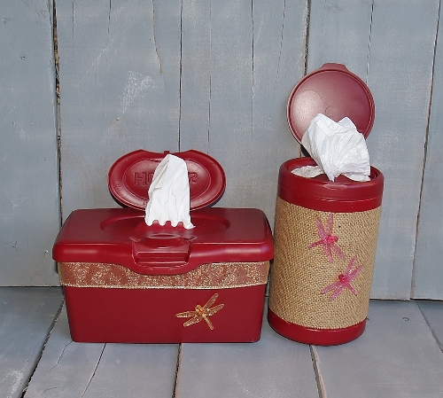 iney and Boogie Wipes Container Upcycle