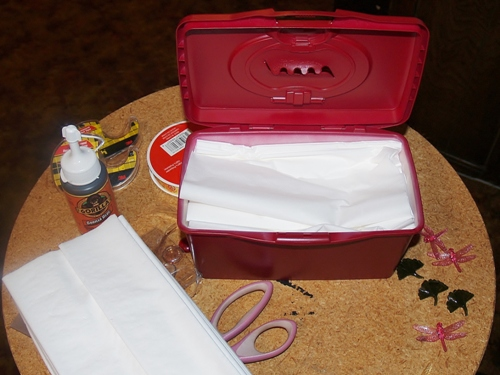 Hiney and Boogie Wipes Upcycle/Kelli's Retro Kitchen Arts