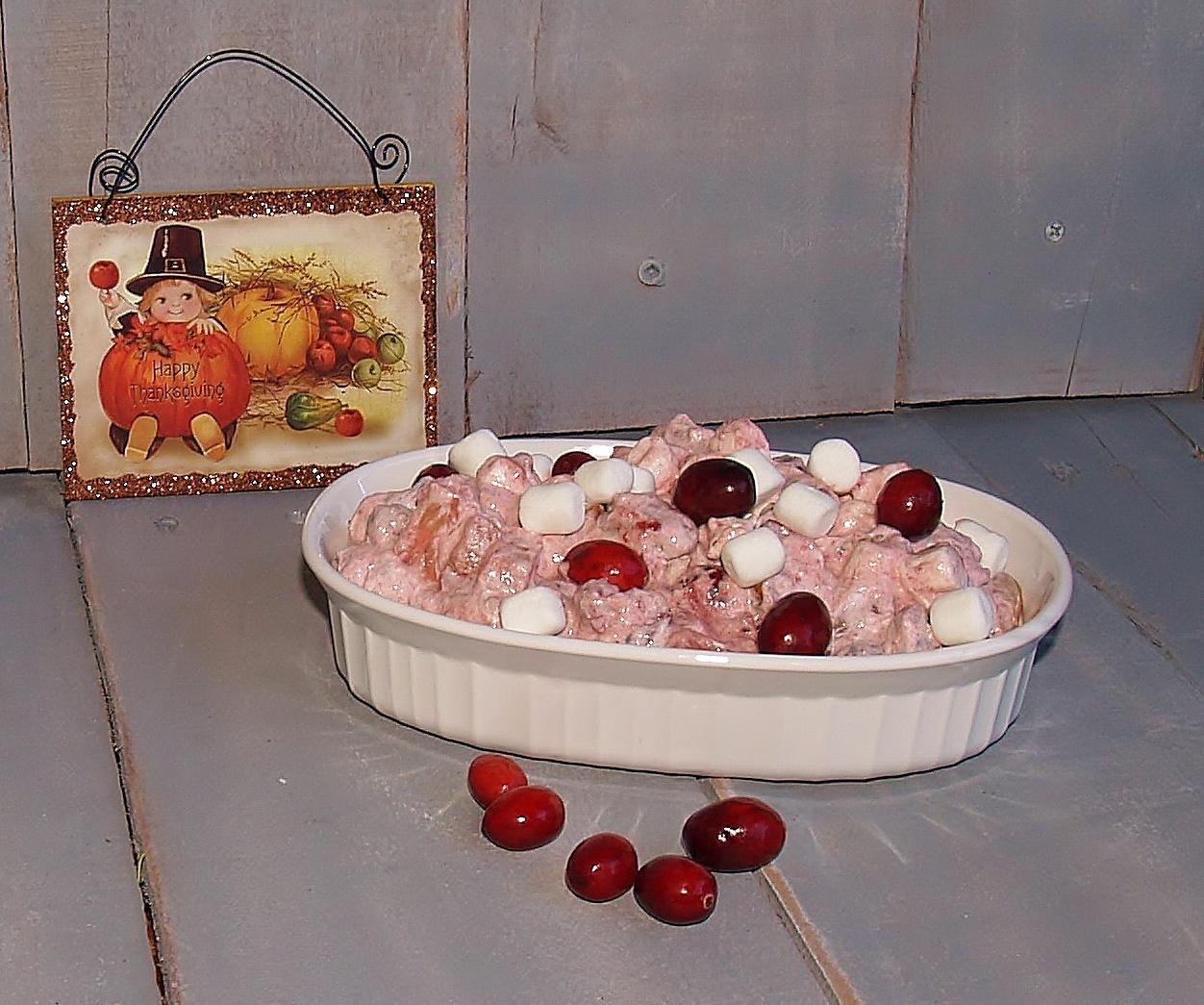 Cranberry Fluff