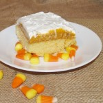 Pumpkin Pudding Poke Cake