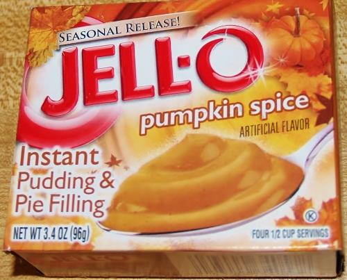 Pumpkin Pudding Poke Cake from Kelli's Kitchen