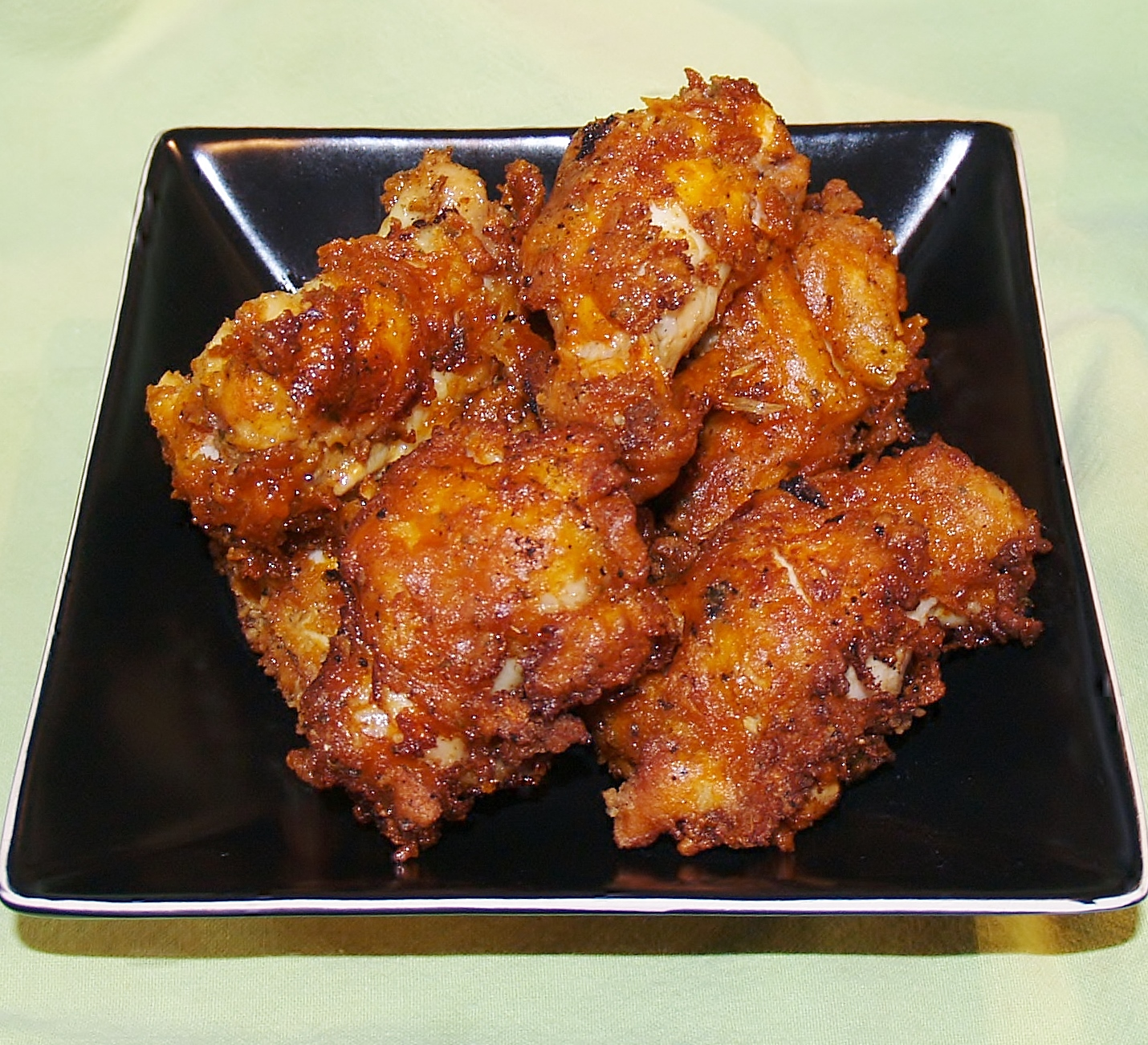 No Mess Hot Wings/ Kelli's Kitchen