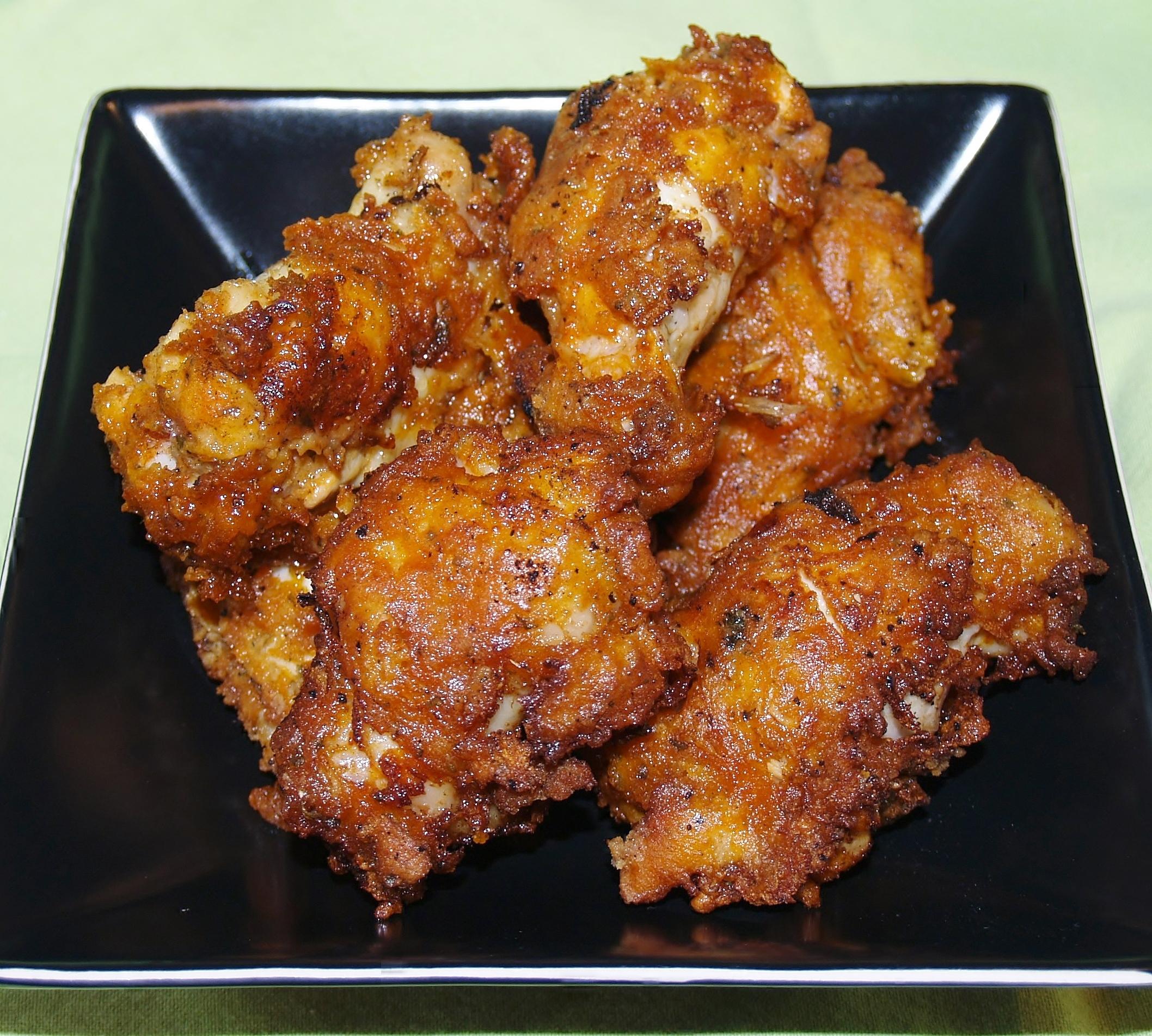 No Mess Hot Wings/ Kelli's Kitchen
