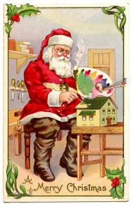 santa+painting+vintage+image+graphicsfairy3
