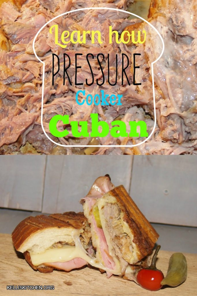 Pressure Cooker Cuban Sandwich