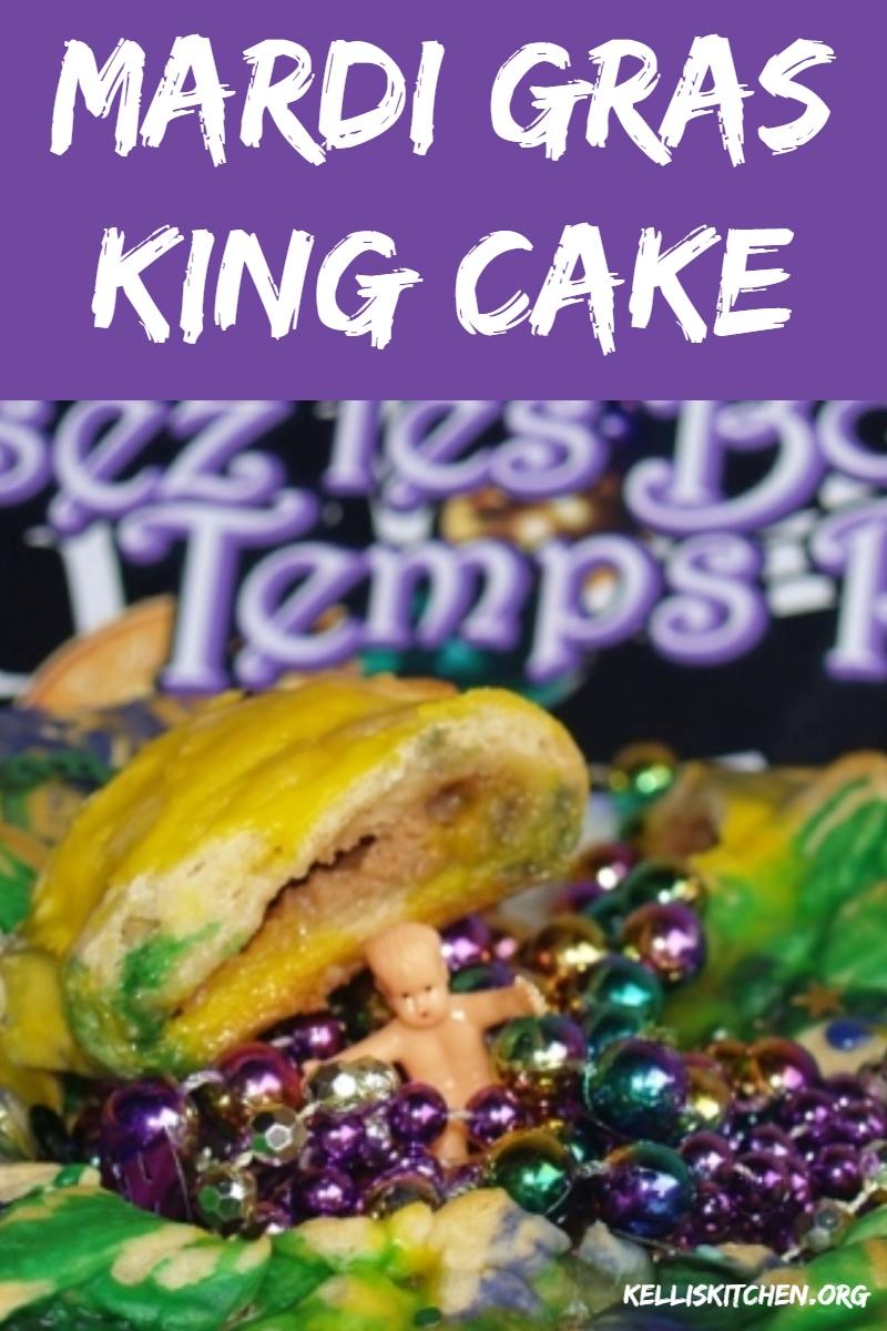 Mardi Gras King Cake via @KitchenKelli