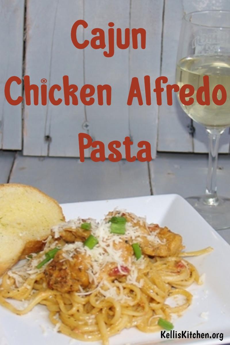 Cajun Chicken Alfedo via @KitchenKelli