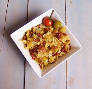 Bacon and Cabbage - Kellis Kitchen