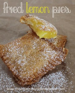 Fried-Lemon-Pies-Chocolate, Chocolate and more