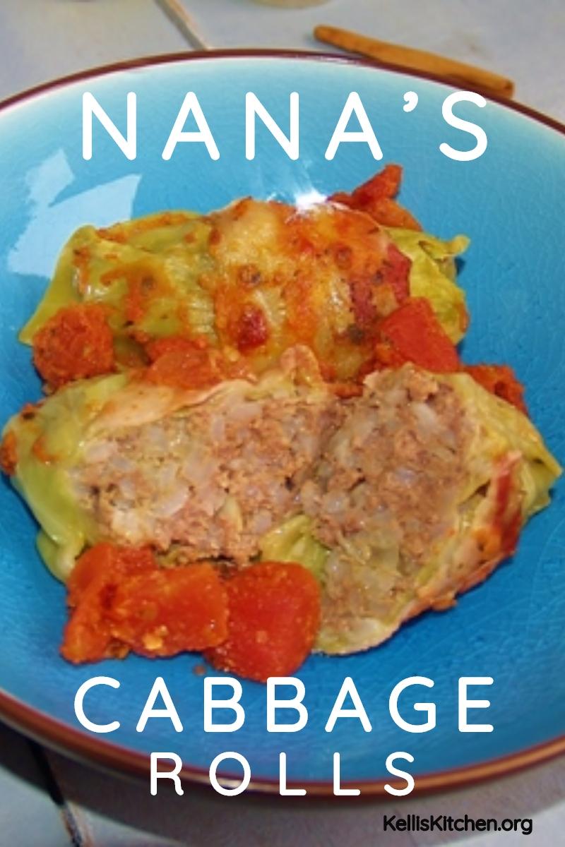 NANA'S CABBAGE ROLLS via @KitchenKelli