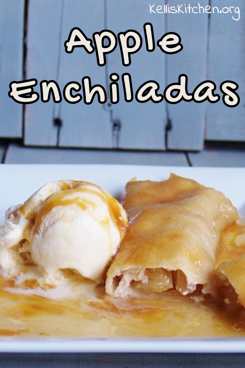 Apple Enchiladas via @KitchenKelli