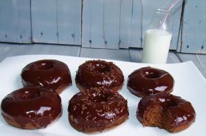 Chocolate Chocolate Donuts!