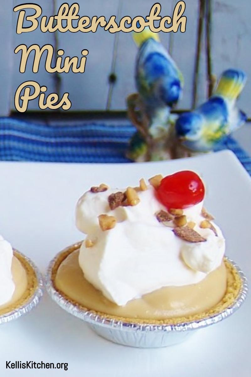 Butterscotch Mini Pies