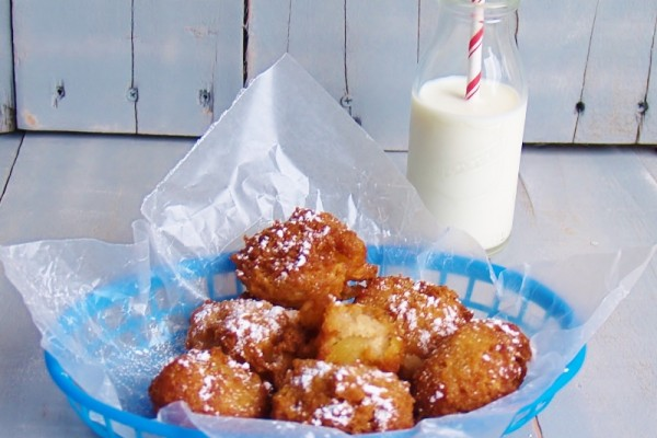 Easy Apple Fritters – Kellis Kitchen