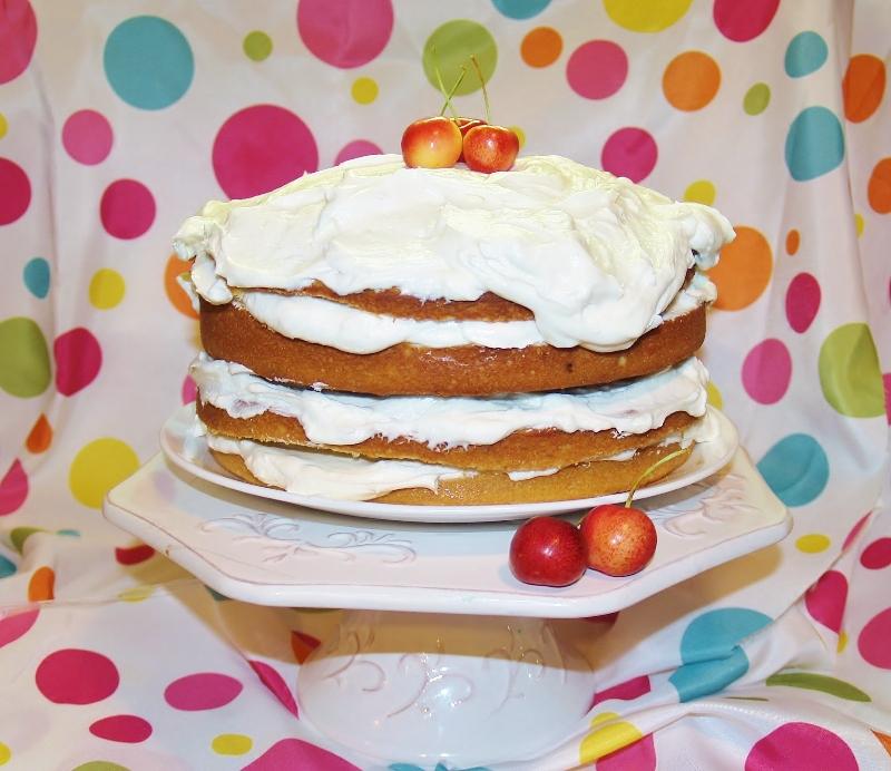 Banana Sour Cream Cake - Kellis Kitchen