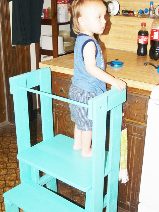 Kitchen Helper Stand for Kids – Kellis Kitchen