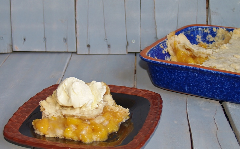 Nanas Old Fashioned Peach Cobbler – Kellis Kitchen