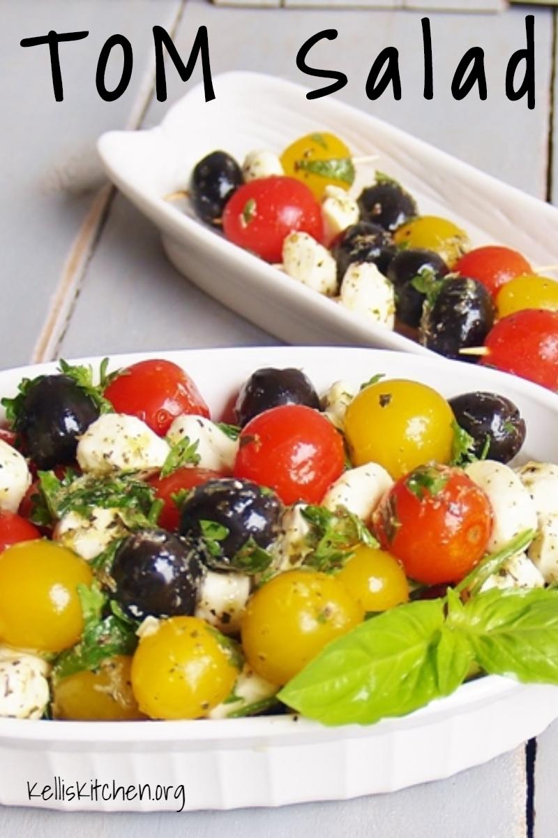 TOM Salad via @KitchenKelli