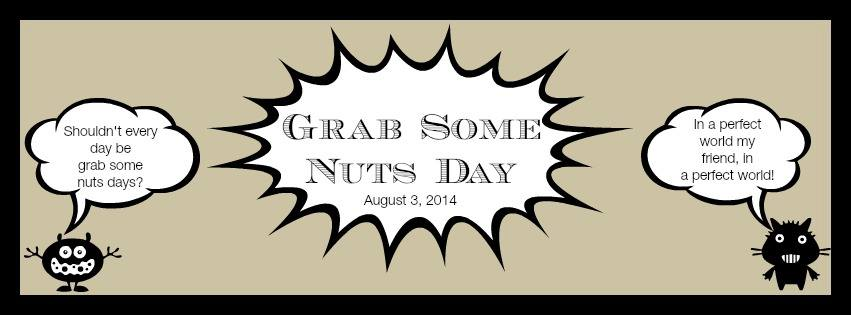 "Be sure to visit all the other Nutty Participants for Grab Some Nuts Day: How to Toast your Nuts by Cravings of a Lunatic Flourless Peanut Butter Walnut Brownie Cookies by It's Yummi <a href=""http://roxanashomebaking.com/nutty-chocolate-chip-brownies-recipe/"" target=""_"