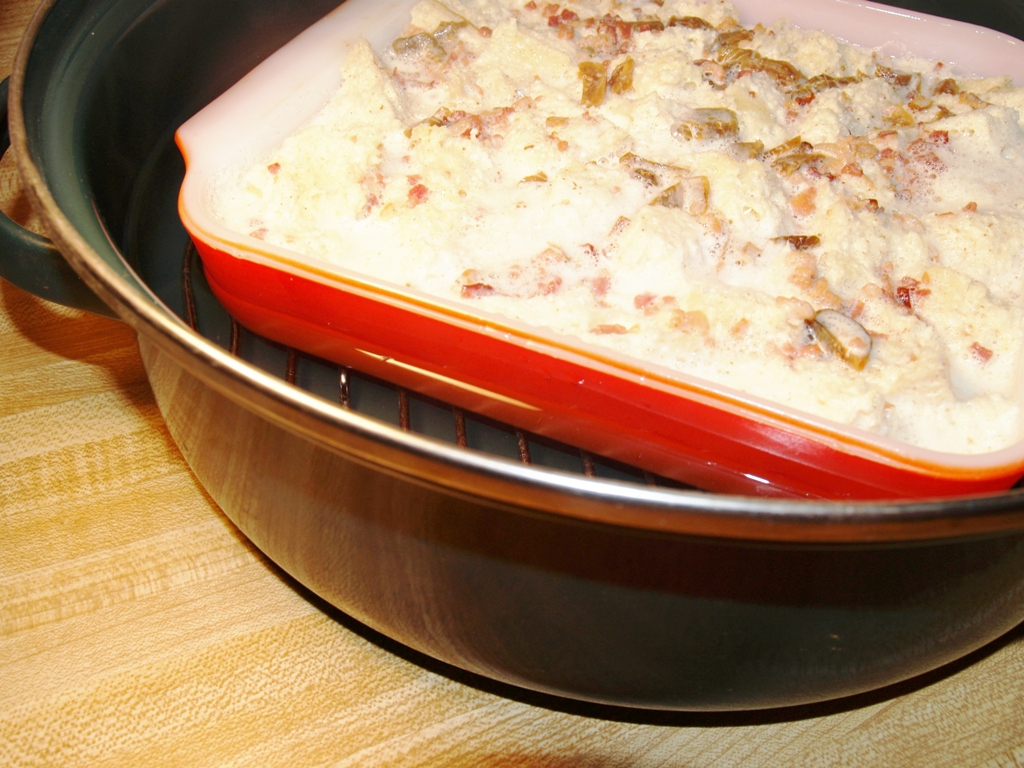 Bacon And Fig Bread Pudding - Kellis Kitchen