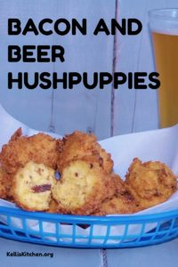 BACON AND BEER HUSHPUPPIES