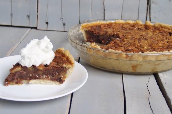 Chocolate Bourbon Pecan Pie  – Kellis Kitchen