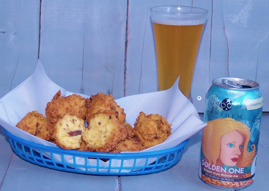 Bacon and Beer Hushpuppies – Kellis Kitchen