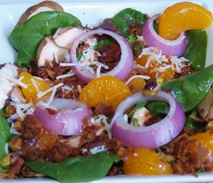 Bacon Salad with Warm Dressing #baconmonth