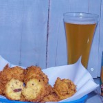 Bacon and Beer Hushpuppies #putsomepiginit